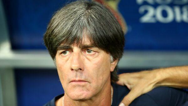 World Cup Group F - Germany vs Sweden - Fisht Stadium, Sochi, Russia - June 23, 2018 Germany coach Joachim Low before the match - Sputnik International