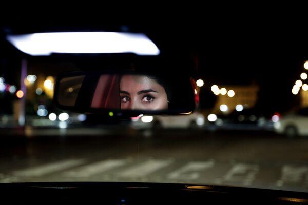 Female driver from Saudi Arabia in Riyadh - Sputnik International