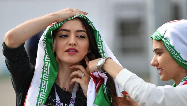 Football Beauties From Across the Globe Enjoying World Cup Matches - Sputnik International
