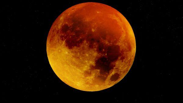 Blood moon - Sputnik International