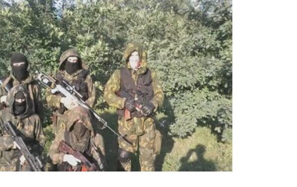 Azov reconnaissance group, Donetsk region. - Sputnik International