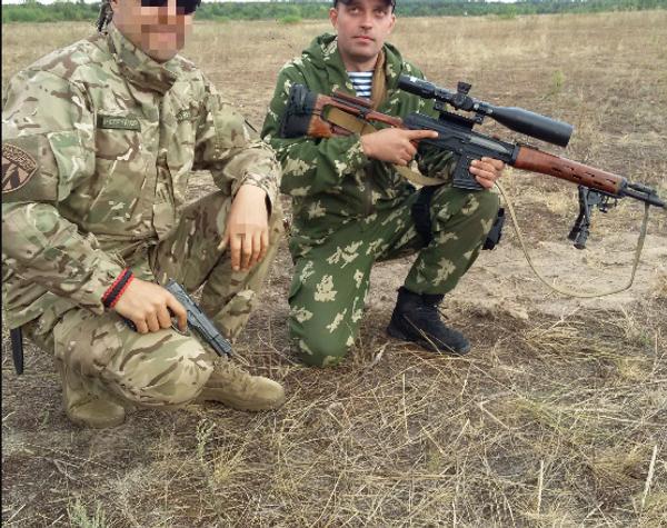 Sergei Sanovsky in sniper training with unit 3066. - Sputnik International
