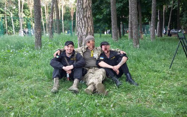 Sanovsky at a training center outside Kiev. - Sputnik International
