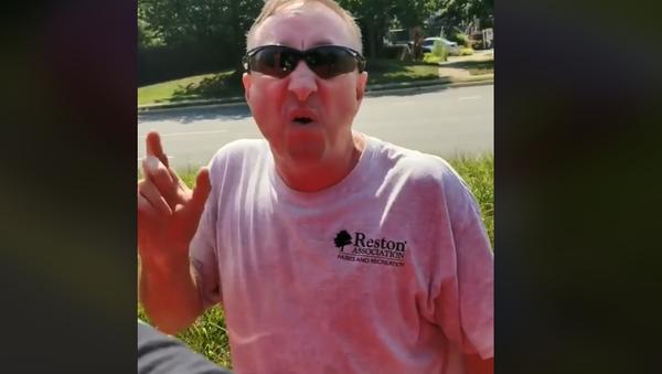 Racist tirade by Virginia man - Sputnik International
