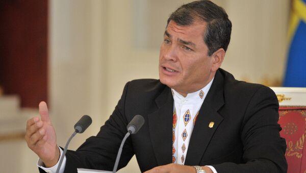 Rafael Correa, expresidente de Ecuador (archivo) - Sputnik International