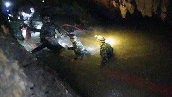 Thailand cave search - Sputnik International