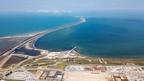 El puente de Crimea - Sputnik International