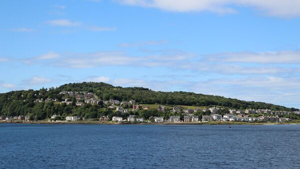 The island of Bute, off the west coast of Scotland, where Alesha McPhail was murdered - Sputnik International
