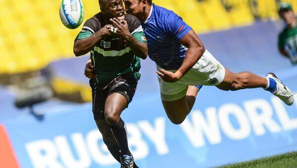 Zimbabwe rugby team player - Sputnik International