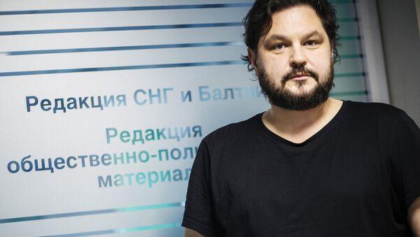 Head of Sputnik Latvia Valentins Rozencovs - Sputnik International