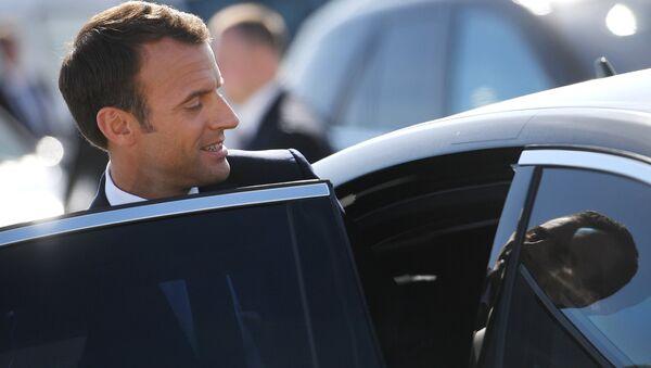 Emanuel Macron  - Sputnik International