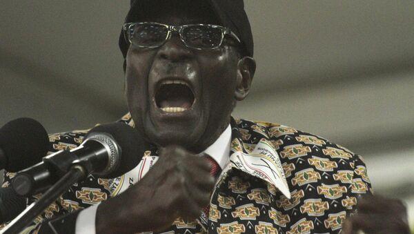 Zimbabwean President, Robert Mugabe - Sputnik International