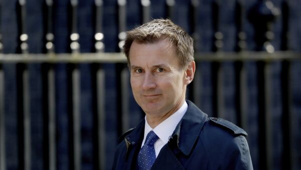 Britain's Health Secretary Jeremy Hunt arrives for a cabinet meeting at 10 Downing Street in London, Tuesday, May 1, 2018. - Sputnik International