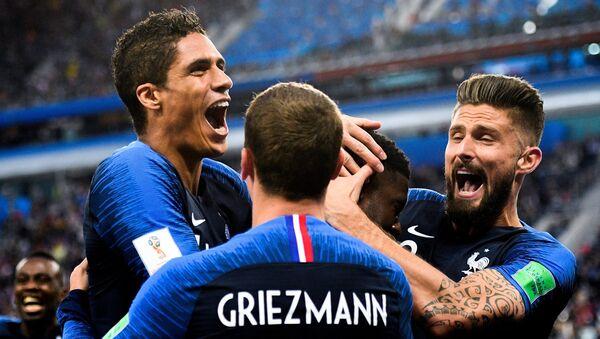 France beat neighbors Belgium 1-0 in St. Petersburg on Tuesday to reach the World Cup final - Sputnik International