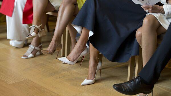 High Heels and Powerful Husbands: First Ladies' Club Meets in Belgium - Sputnik International
