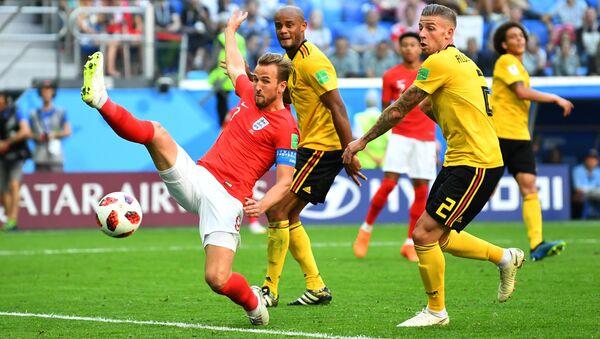 Soccer Football - World Cup - Third Place Play Off - Belgium v England - Saint Petersburg Stadium, Saint Petersburg, Russia - July 14, 2018 - Sputnik International