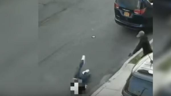 Botched mob hit in the Bronx - Sputnik International