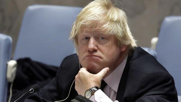 Britain's former Foreign Minister Boris Johnson - Sputnik International