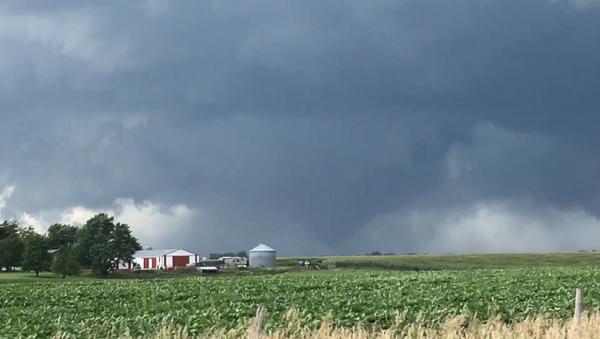Tornados wreak havoc across central Iowa. - Sputnik International
