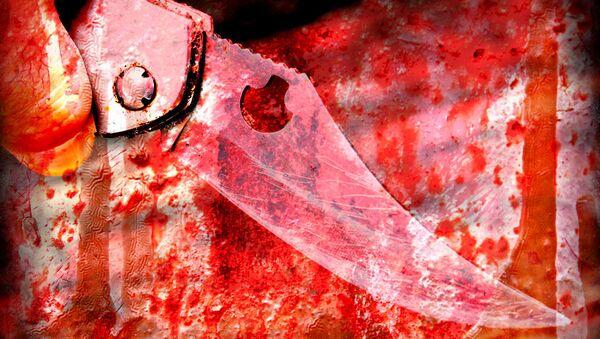 Knife in my hand - Sputnik International