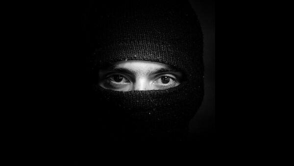Hooded man - Sputnik International