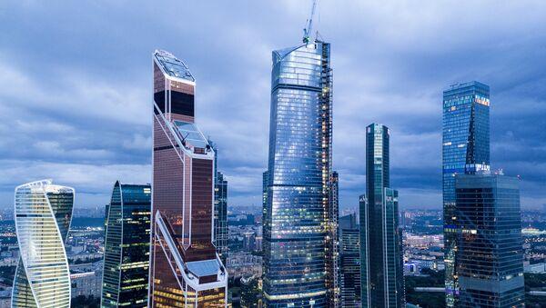 The Moscow International Business Center, Moscow City. - Sputnik International