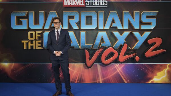 Director James Gunn poses for photographers upon arrival at the premiere of the film 'Guardians of the Galaxy Vol. 2', in London, Monday, Apr. 24, 2017 - Sputnik International