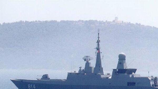Royal Saudi Navy Al Riyadh-class frigate - Sputnik International