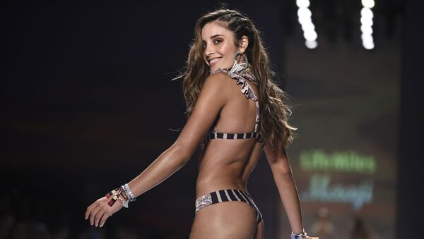 Model at Colombia's Fashion Week - Sputnik International
