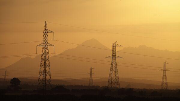 Power lines - Sputnik International