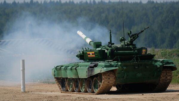 Clash of the Metal Monoliths: Tank Biathlon Starts at International Army Games - Sputnik International