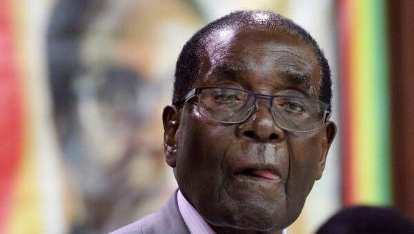 L'année 2017 a été la dernière du règne du Président Robert Mugabe - Sputnik International