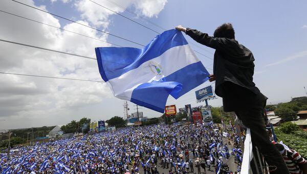Protestas en Nicaragua - Sputnik International