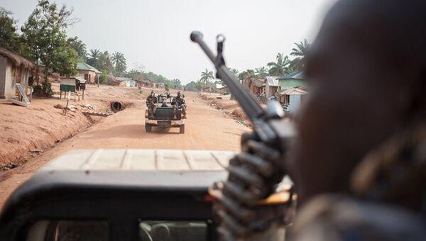 Soldiers in Central African Republic - Sputnik International