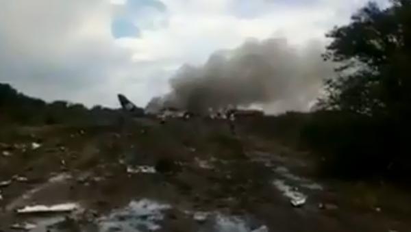 Aeromexico flight crashes in Mexican state of Durango - Sputnik International
