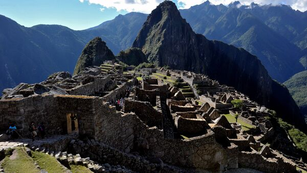 Ruinas de Machu Picchu (imagen de archivo) - Sputnik International