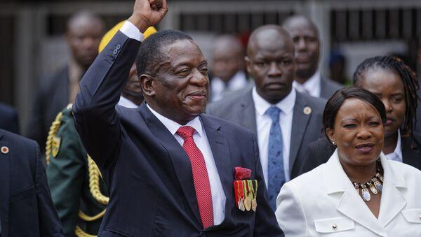 Emmerson Mnangagwa, president of Zimbabwe - Sputnik International