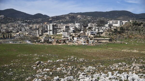 A view of the town of Masyaf in Hama province, in Syria (File) - Sputnik International