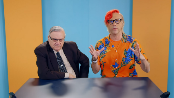 Former Arizona Sheriff Joe Arpaio tells Sacha Baron Cohen that he would welcome oral sex from US President Donald Trump in Showtime series 'Who is America? - Sputnik International