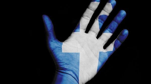 Facebook hand - Sputnik International