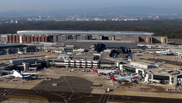 Aerial View of Frankfurt Airport - Sputnik International