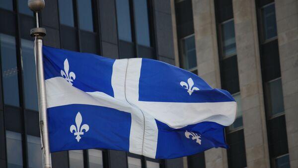 Flag of Quebec - Sputnik International