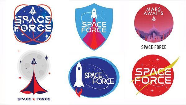 Proposed Space Force Logos - Sputnik International