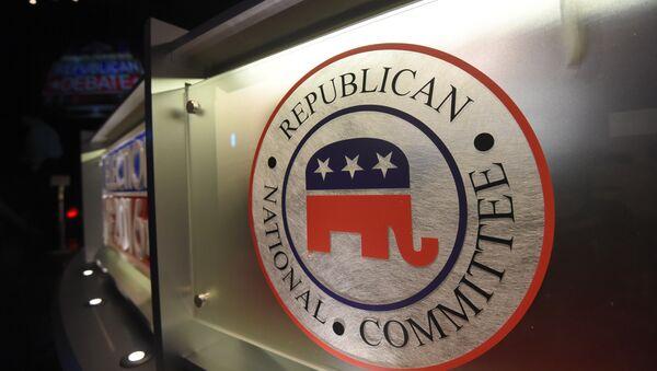 The Republican National Committee logo - Sputnik International