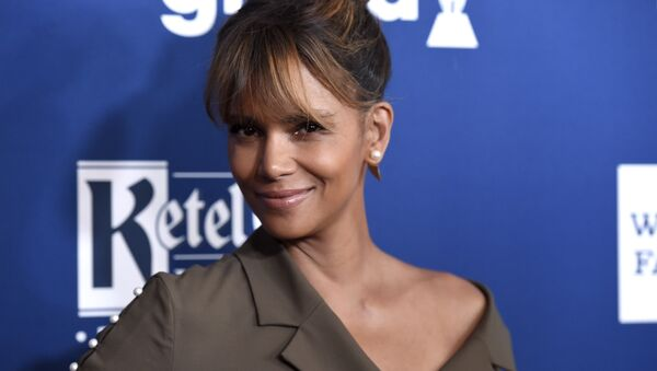 Halle Berry arrives at the 29th annual GLAAD Media Awards at the Beverly Hilton Hotel on Thursday, April 12, 2018, in Beverly Hills, Calif - Sputnik International