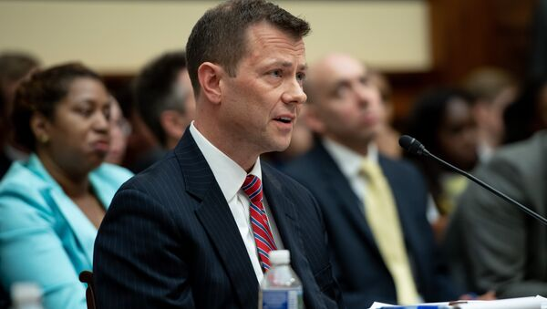 Deputy Assistant FBI Director Peter Strzok testifies on FBI and Department of Justice actions during the 2016 Presidential election during a House Joint committee hearing on Capitol Hill in Washington, DC, July 12, 2018. - Sputnik International