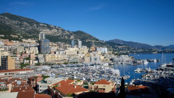 View of the Le Revuar residential area and Port Hercule in the Principality of Monaco. - Sputnik International