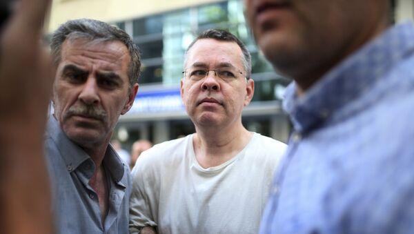 Andrew Brunson, pastor estadounidense arrestado en Turquía - Sputnik International