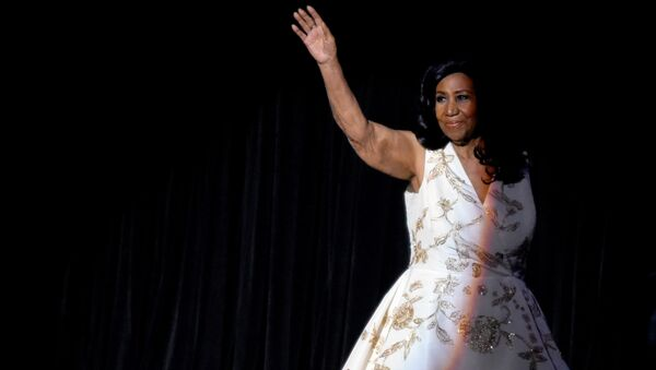 NEW YORK, NY - APRIL 19: Aretha Franklin performs onstage during the Clive Davis: The Soundtrack of Our Lives Premiere Concert during the 2017 Tribeca Film Festival at Radio City Music Hall on April 19, 2017 in New York City - Sputnik International