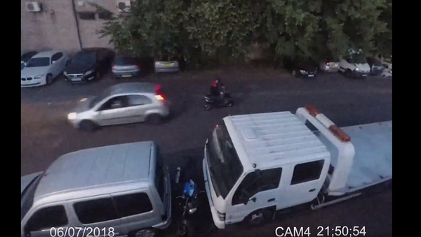 Revenge in Reverse: UK Man Thwarts Attempted Motorbike Theft - Sputnik International